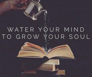 books, grow, and quotes image