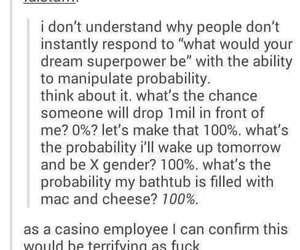 cool, probability, and tumblr image