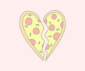 wallpaper, pattern, and pizza image