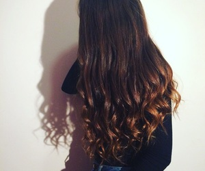 hairstyle, ombre, and teen image