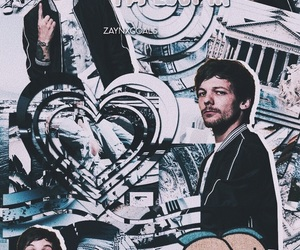 louis tomlinson and blue image