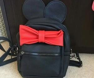 bag, fashion, and mickey image