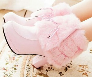 pink, shoes, and rosas image