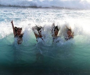 fun, summer, and waves image