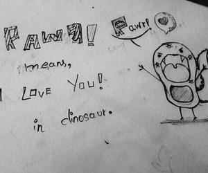 art, chibi, and I Love You image