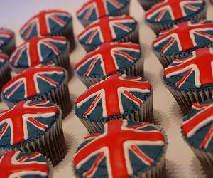 cupcake, food, and england image
