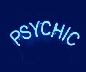 psychic, blue, and grunge image