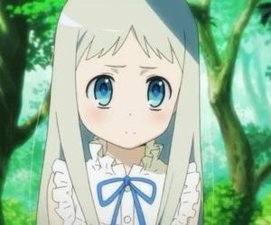 ano hana, anime, and menma image