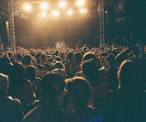 concert, people, and light image