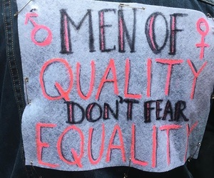 equality, feminism, and quote image