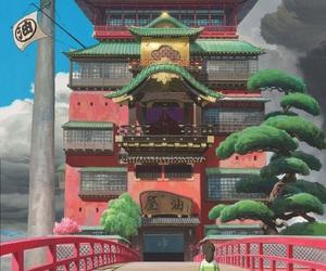 chihiro, spirited away, and anime image