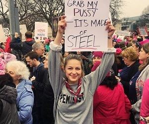Supergirl, melissa benoist, and women's march image