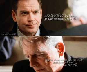 blood, ncis, and quote image