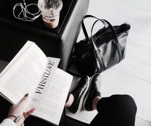 book, fashion, and black image