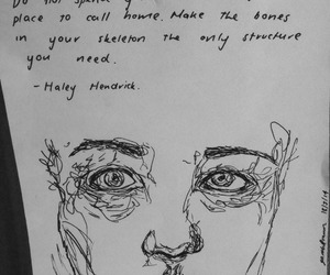 quotes, art, and drawing image