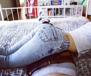 goals, socks, and jeans image