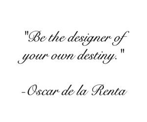 quote, destiny, and designer image