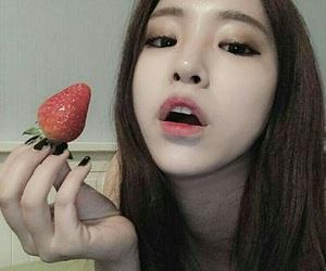 korean, asian, and girl image