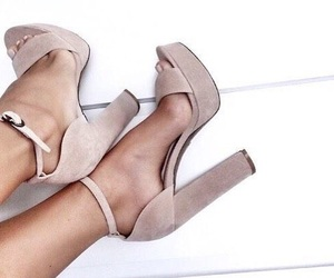 chic, heel, and inspiration image