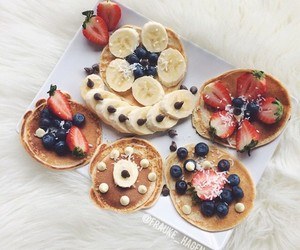healthy, breakfast, and fruit image