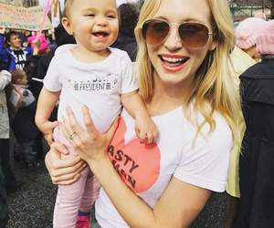 candice accola, candice king, and caroline forbes image