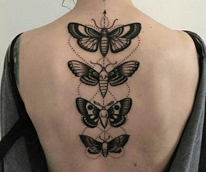 butterfly, tattoo, and brabuletas image