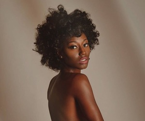 beautiful, black woman, and body image