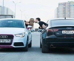 love, car, and audi image