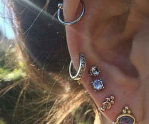 earring and percing image