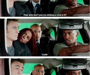 captain america, chris evans, and funny image