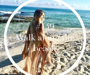 beach, braid, and outfit image
