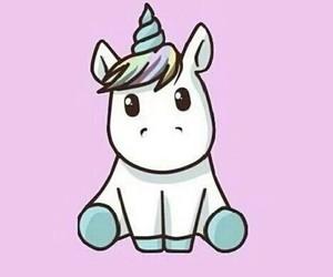 unicorn, ❤, and 😍 image