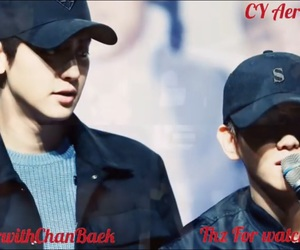 exo, park chanyeol, and byun baekhyun image