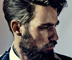 beard, hair, and sexy image