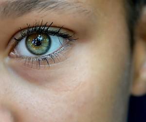 beauty, eye, and skin image