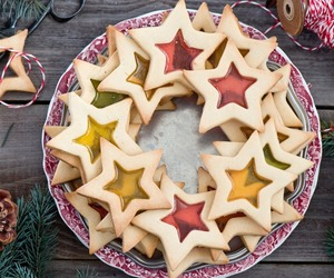 Cookies, dessert, and stars image