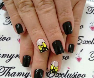 nails, unhas, and nails cute image