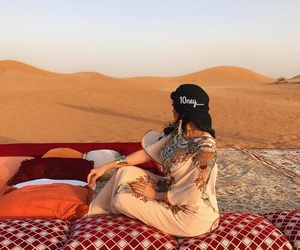 beauty, arabic, and Dubai image