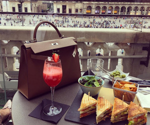 food, luxury, and bag image