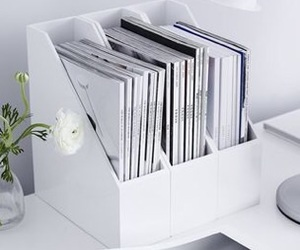white and office image