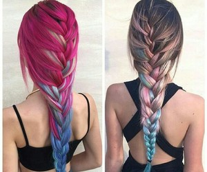 cool, hair color, and hair image
