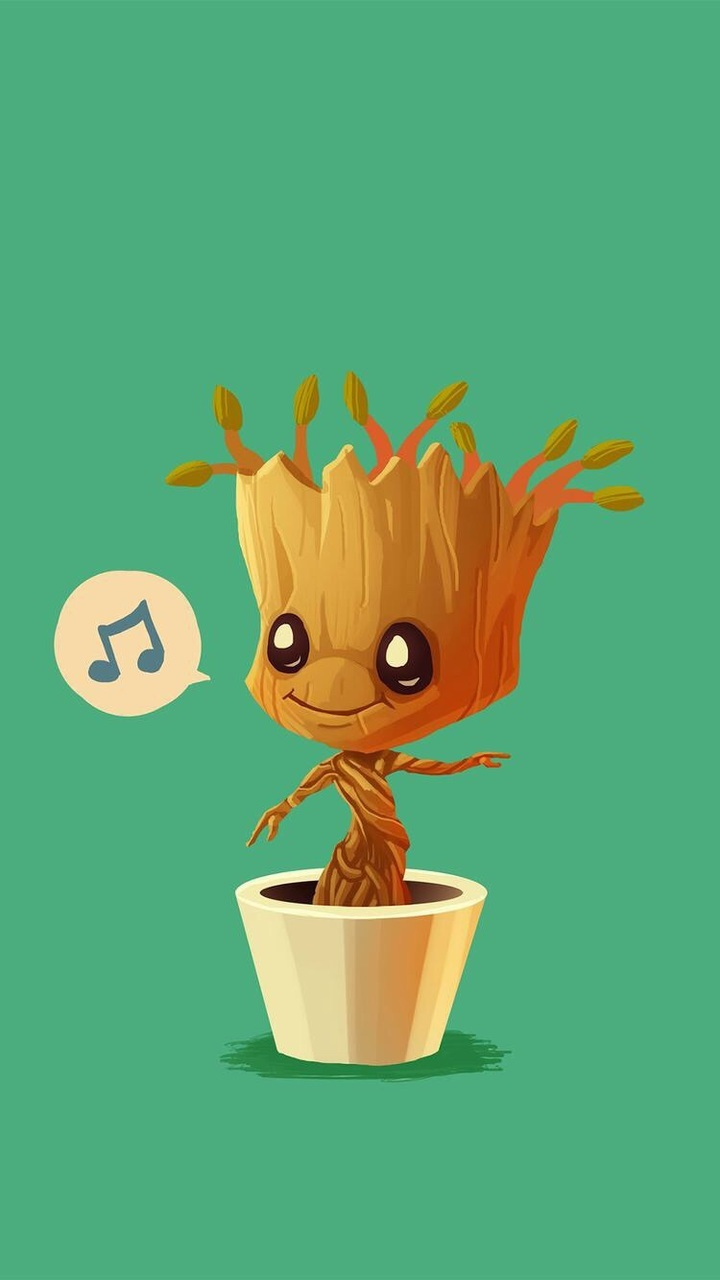 Baby Groot Wallpaper Shared By Jinx On We Heart It