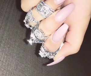 beauty, jewellery, and nails image