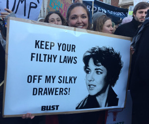 grease and womens march image
