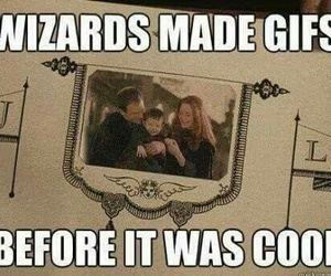 harry potter, wizard, and gifs image