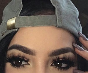 eyebrows, makeup, and loveit image