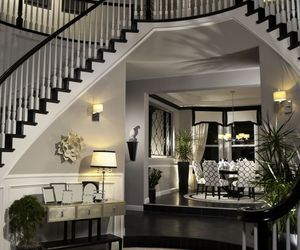 luxury, black, and home image