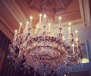 luxury, light, and chandelier image