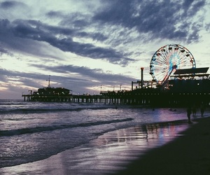 Dream, santa monica pier, and la image