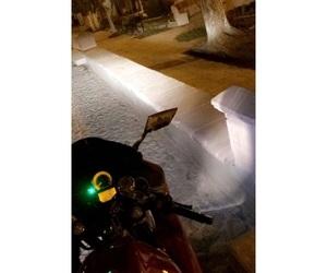 border, Noche, and motocicleta image